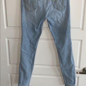 light holister jeans